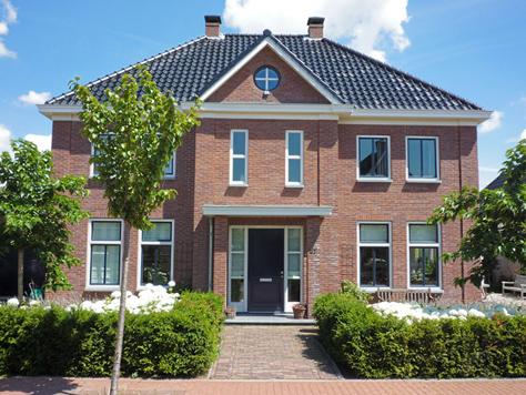 Voorbeelden nieuwbouw poortinga bouw for Huizen moderne stijl